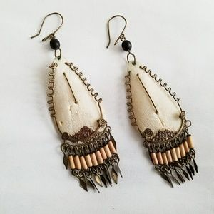💎Tribal Earrings - Pierced